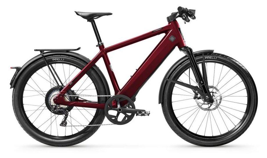 E-Bikes/e-bike: Stromer  ST3 AE Sport Rot Modell 2020
