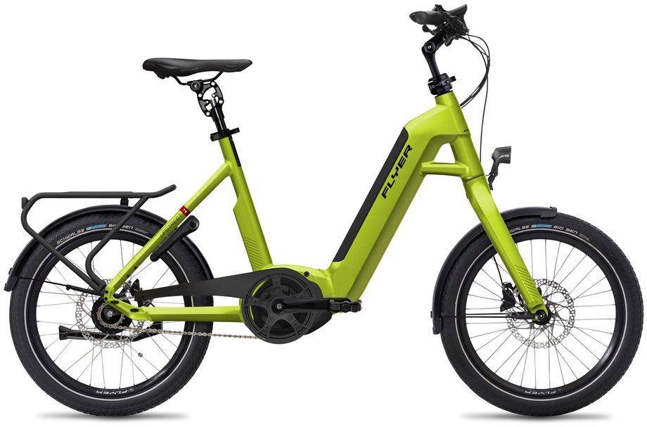 E-Bikes/e-bike: Flyer  Upstreet1 5.00 - Purion Grün Modell 2020