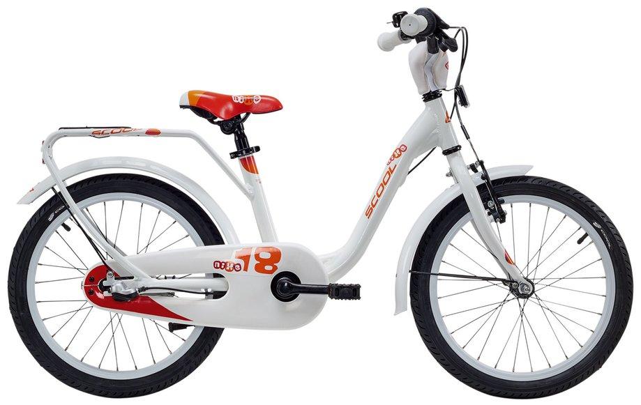 Kinderfahrrad - S'cool niXe Alloy 18 3 S Kinderfahrrad Weiß Modell 2018 - Onlineshop