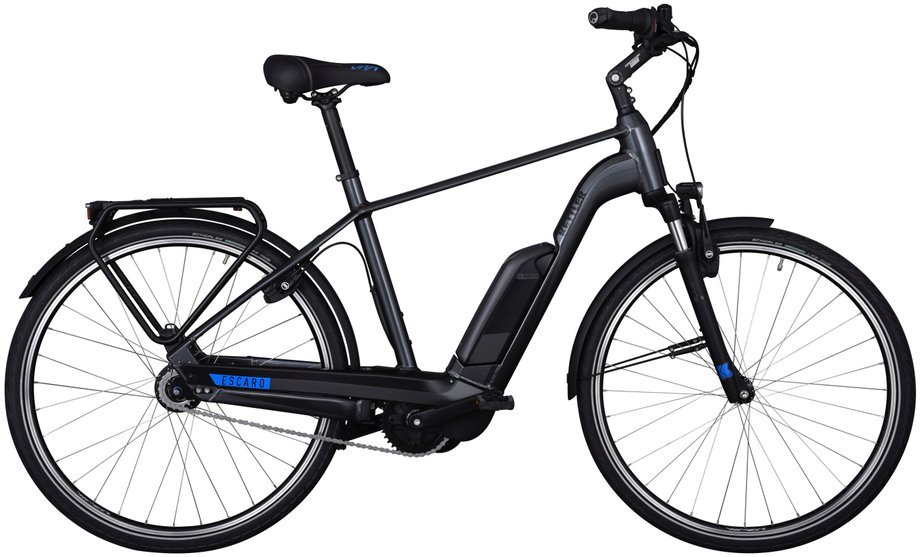Kettler Escaro Comp 8 FL E-Bike Grau Modell 2019