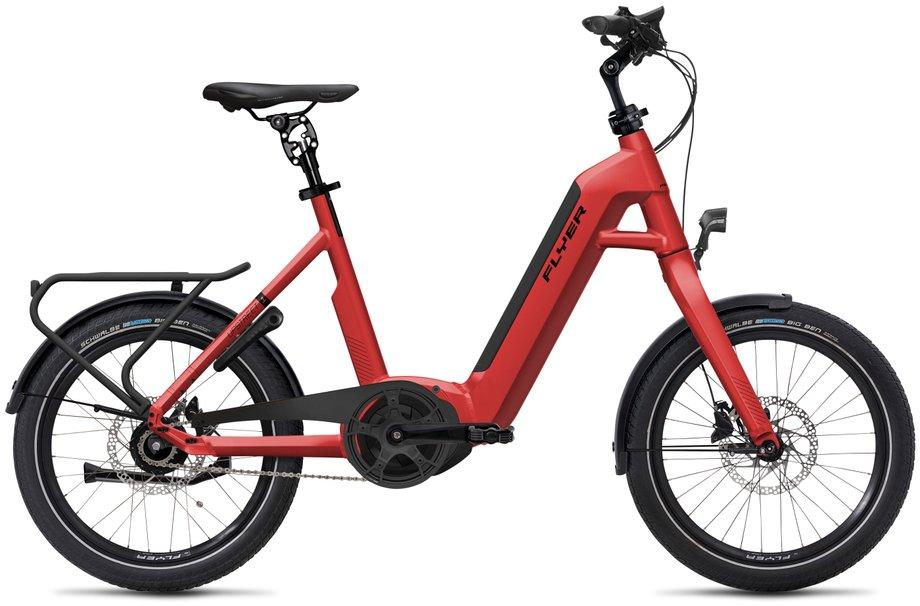 E-Bikes/e-bike: Flyer  Upstreet1 5.00 - Purion Rot Modell 2020