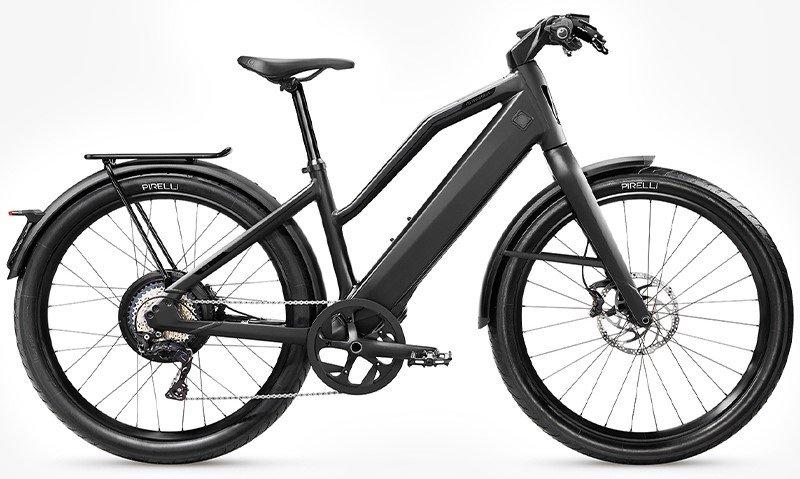E-Bikes/e-bike: Stromer  ST3 Comfort C Rigid Schwarz Modell 2020