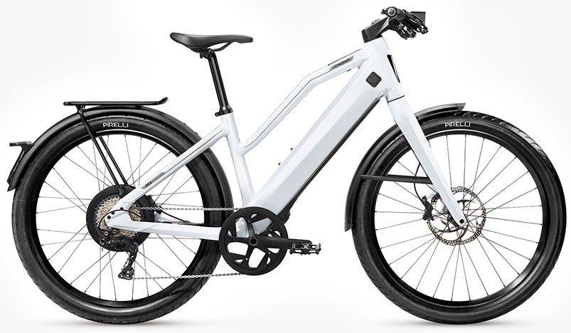 E-Bikes/e-bike: Stromer  ST3 Comfort Urban Rigid Weiß Modell 2020