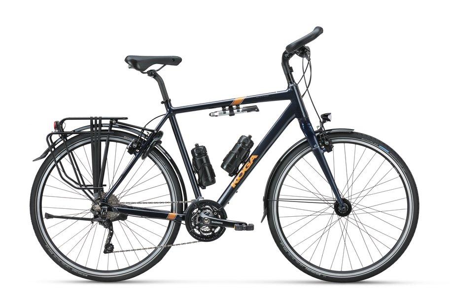 Fahrräder/Crossbikes: Koga  GrandTourer Blau Modell 2020