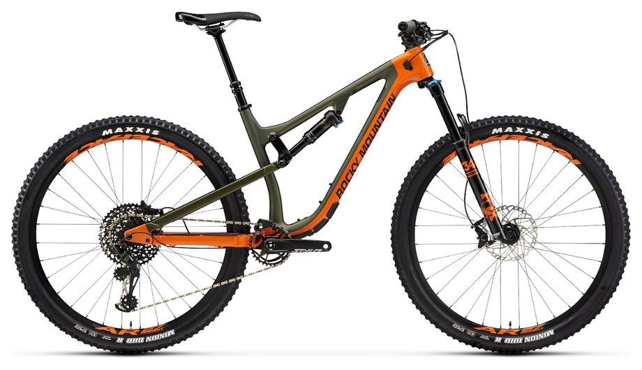 Fahrräder/Mountainbikes: Rocky Mountain  Instinct Carbon 50 Orange Modell 2019