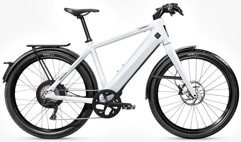 E-Bikes/e-bike: Stromer  ST3 Sport Comfort Rigid Weiß Modell 2020
