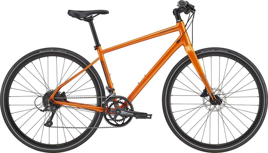 Fahrräder/Crossbikes: Cannondale  Quick 2 Orange Modell 2021