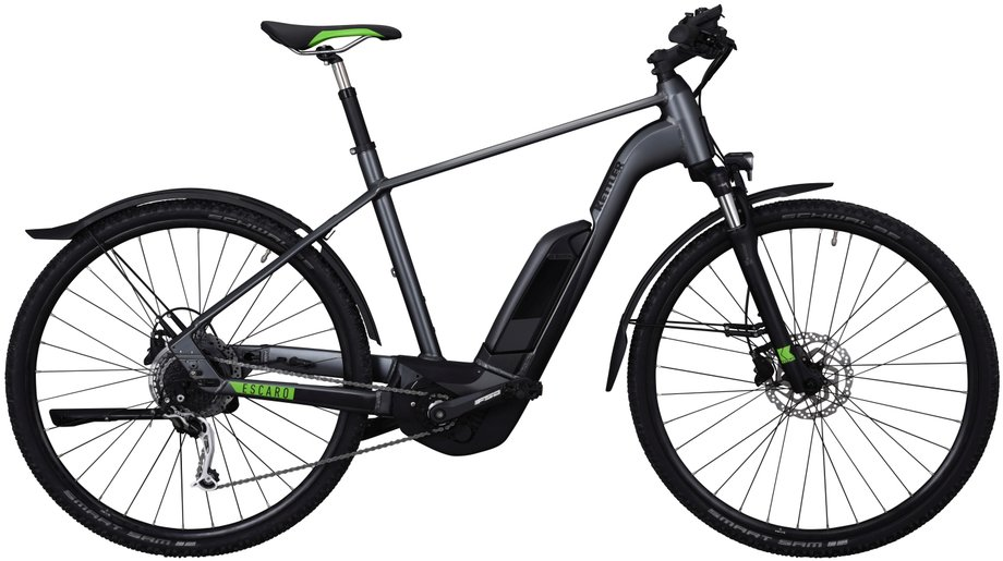 Kettler Escaro Cross CX9 E-Bike Grau Modell 2019