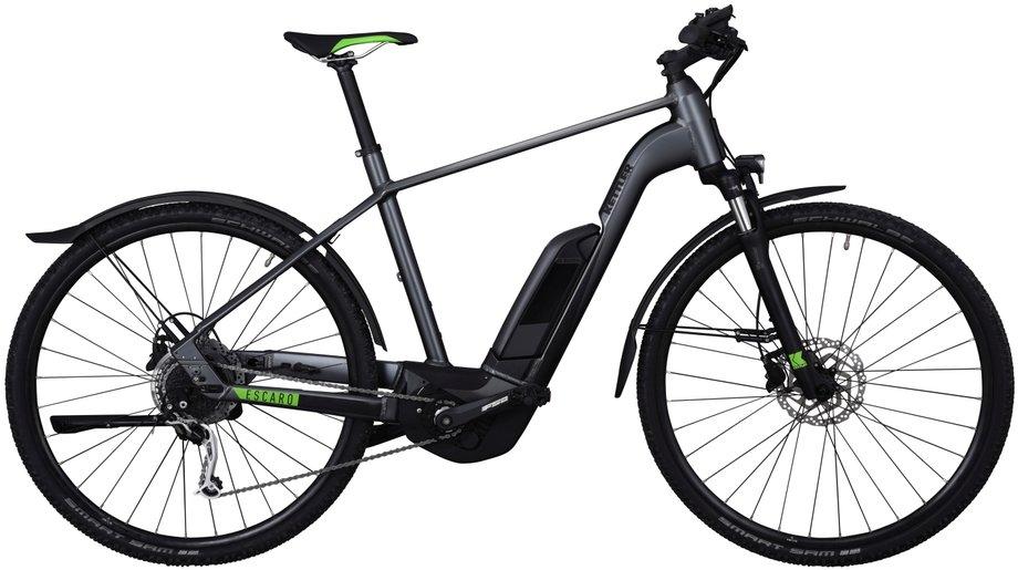 Kettler Escaro Cross CX9 E-Bike Grau Modell 2019