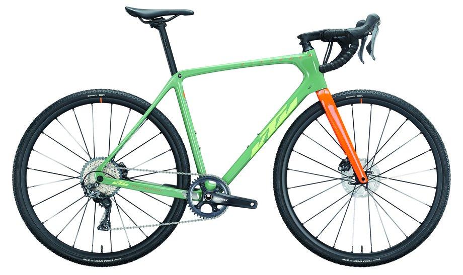 Fahrräder/rennräder: KTM  X-Strada Master Grün Modell 2021