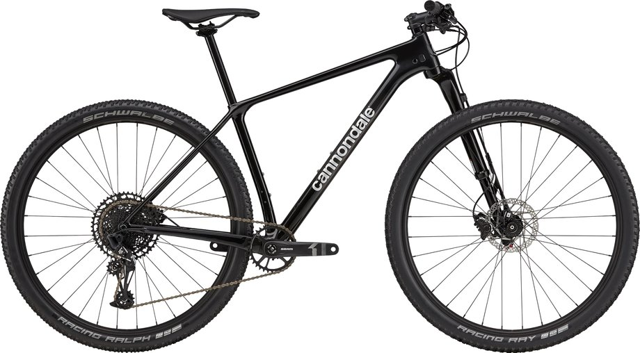Fahrräder/Mountainbikes: Cannondale  F-Si Carbon 4 Silber Modell 2021