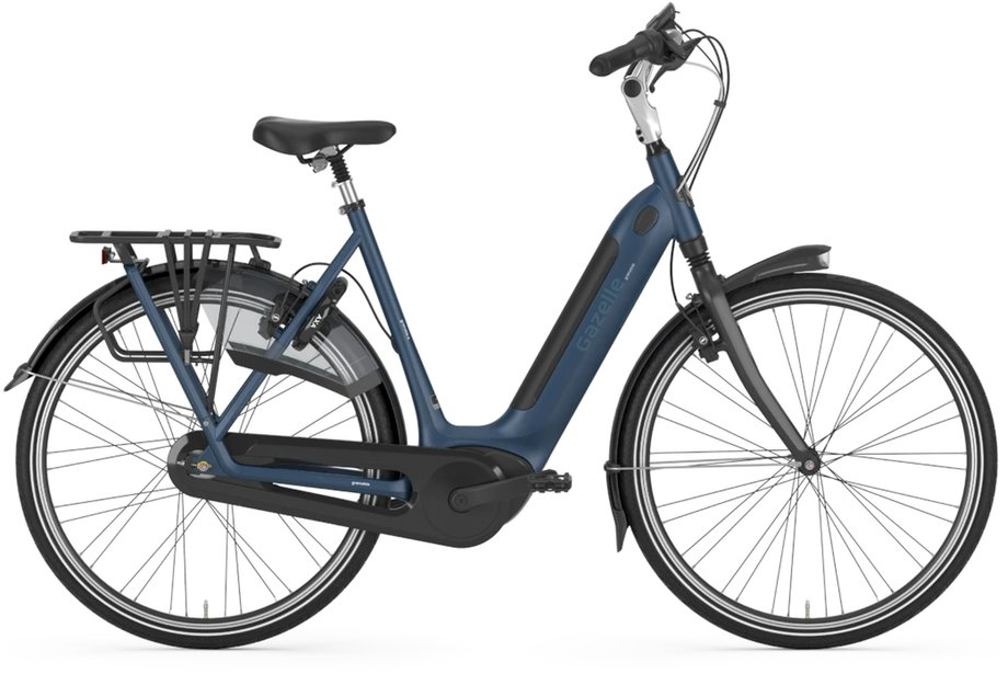 E-Bikes/e-bike: Gazelle  Grenoble C8 HMB Blau Modell 2021