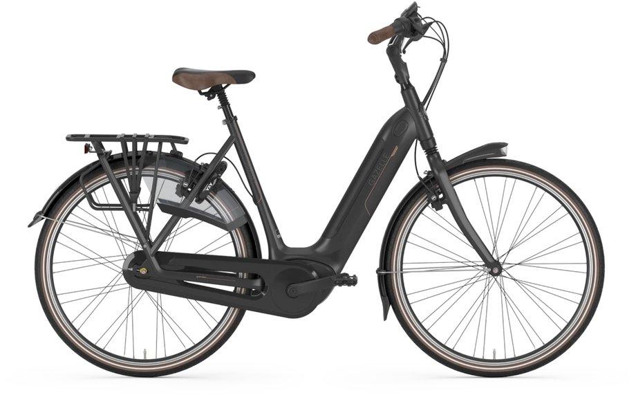 E-Bikes/e-bike: Gazelle  Grenoble C8 HMB Schwarz Modell 2021