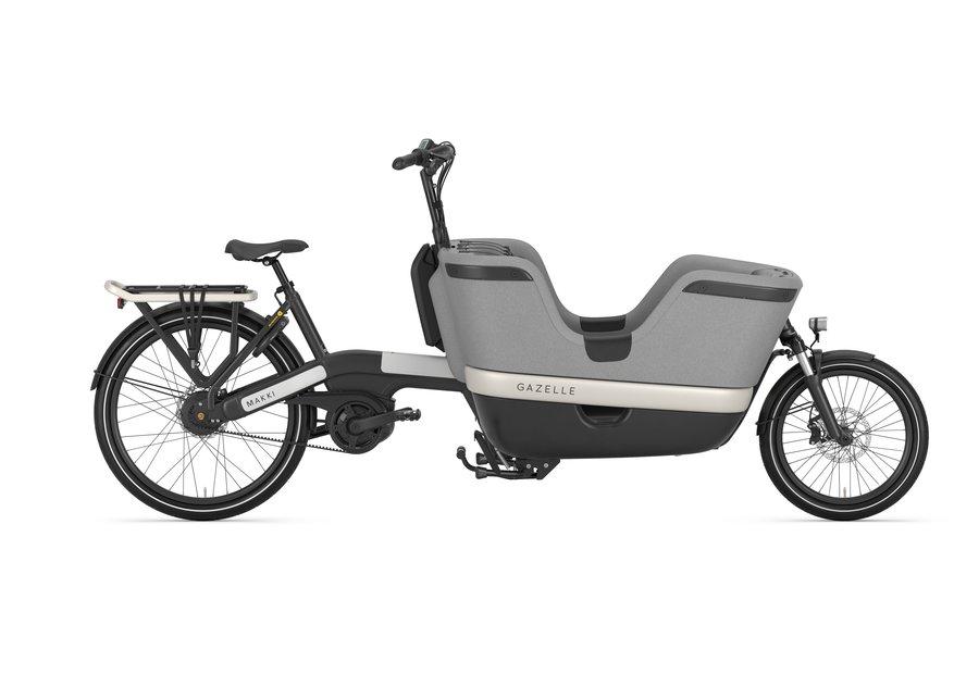 Fahrräder/lastenfahrräder: Gazelle  Makki Load Schwarz Modell 2021