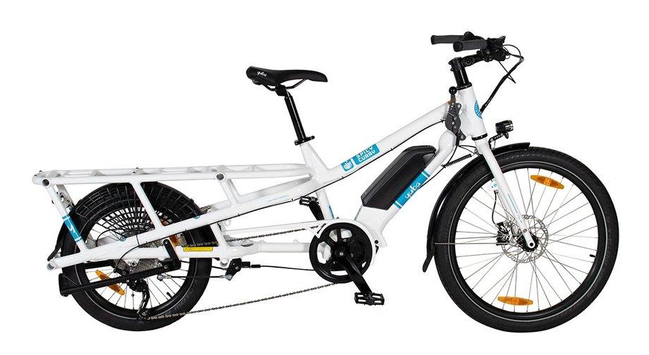 Yuba Spicy Curry Longtail Lastenrad für Kinder, Link führt zur Produktseite bei Fahrrad XXL
