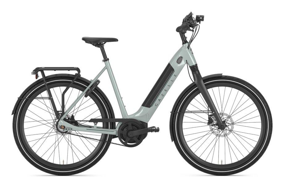 E-Bikes/e-bike: Gazelle  Ultimate C8+ HMB Belt Grün Modell 2021