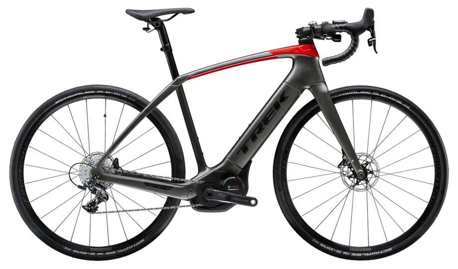 E-Bikes/e-bike: Trek  Domane SL 6 + Schwarz Modell 2019