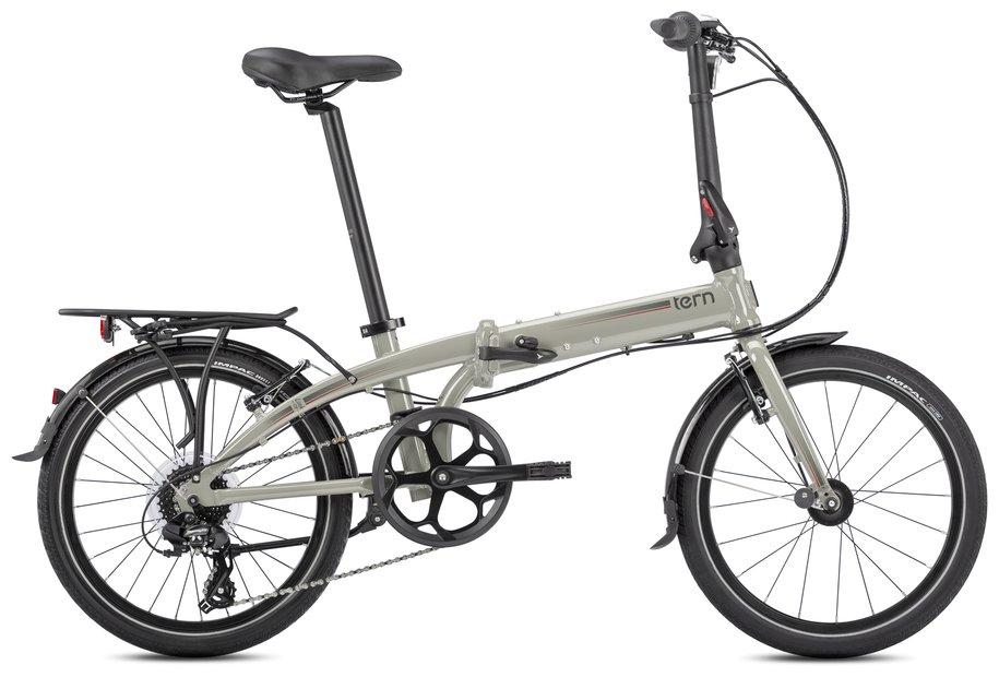 Tern Link C8 Verbandsrad Grau Modell 2021