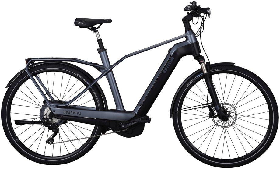 Kettler Quadriga Comp CX 11 E-Bike Grau Modell 2019