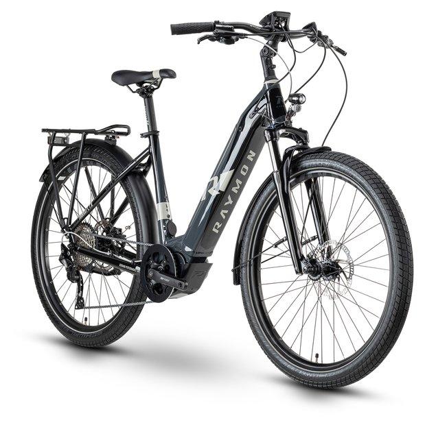 E-Bikes/e-bike: Raymon Raymon TourRay E 7.0 Schwarz Modell 2020