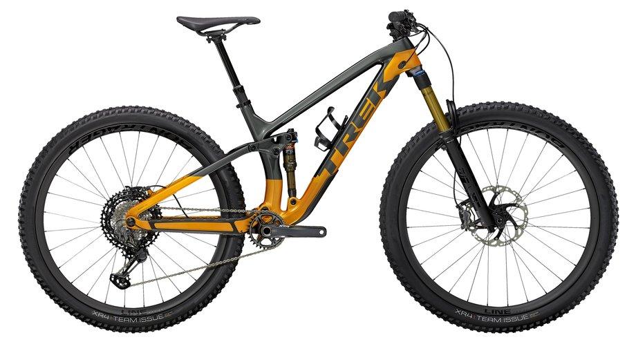 Fahrräder/Mountainbikes: Trek  Fuel EX 9.9 XTR Grau Modell 2021