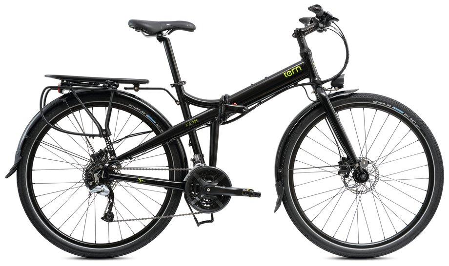 Fahrräder/klappräder: Tern  Joe Tour L Schwarz Modell 2021