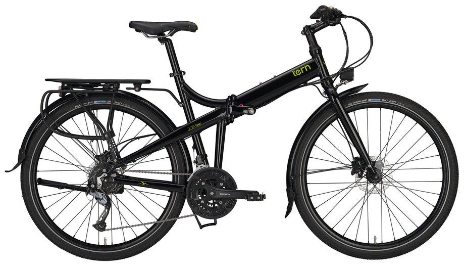 Fahrräder/klappräder: Tern  Joe Tour M Schwarz Modell 2021