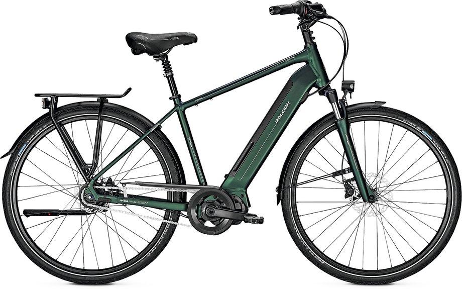 E-Bikes/e-bike: Raleigh  Sheffield 8 Grün Modell 2019