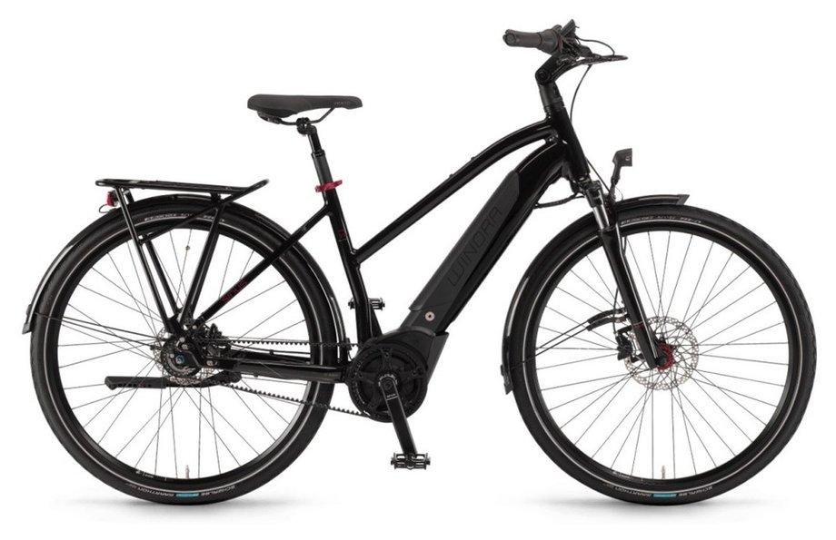 E-Bikes/e-bike: Winora  Sinus iR8f Schwarz Modell 2021