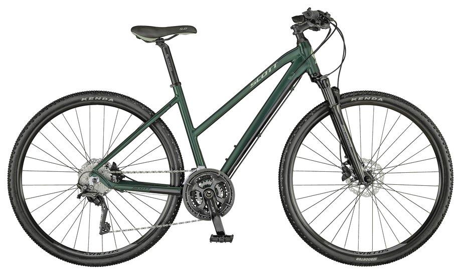 Fahrräder/Crossbikes: Scott  Sub Cross 10 Lady Grün Modell 2021