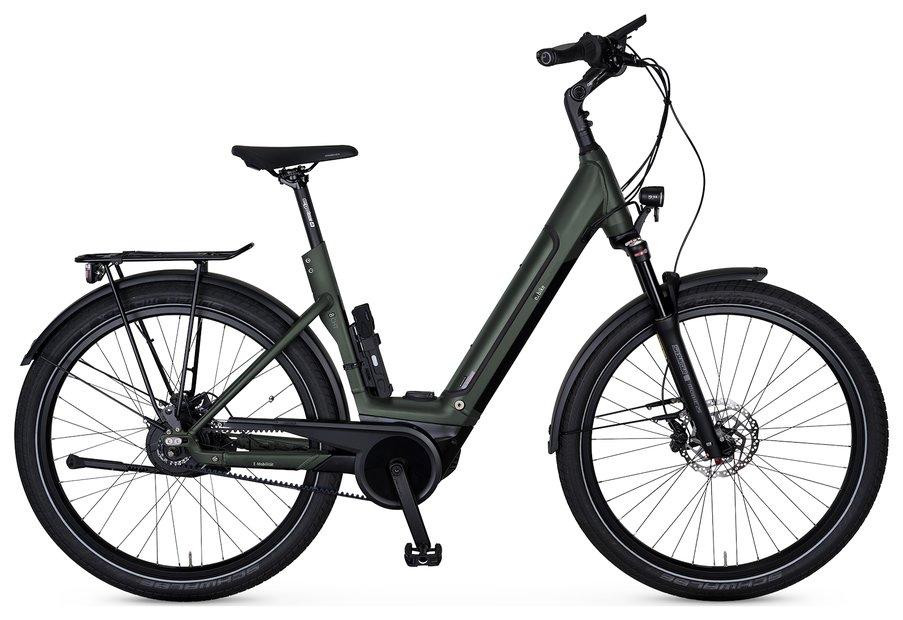 E-Bikes/e-bike: E-Bike Manufaktur  8CHT Wave Grün Modell 2021