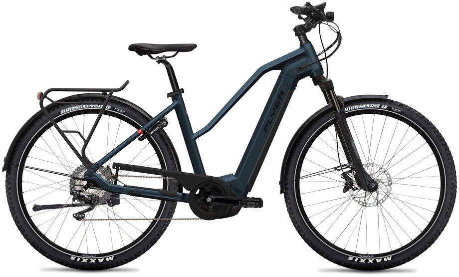 E-Bikes/e-bike: Flyer  Upstreet4 7.12 - Intuvia Blau Modell 2020