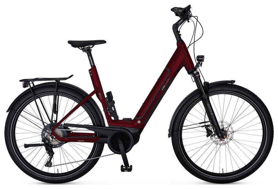E-Bikes/e-bike: E-Bike Manufaktur  13ZEHN Wave Rot Modell 2021