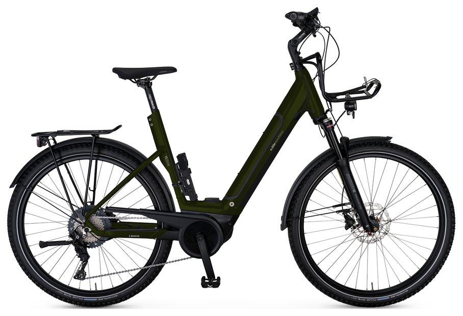 E-Bikes/e-bike: E-Bike Manufaktur  13ZEHN Cross Wave Braun Modell 2021