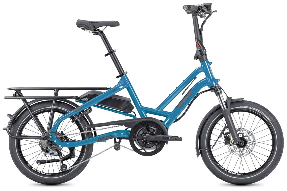 E-Bikes/e-bike: Tern  HSD P9 LR mit Beleuchtung Blau Modell 2021