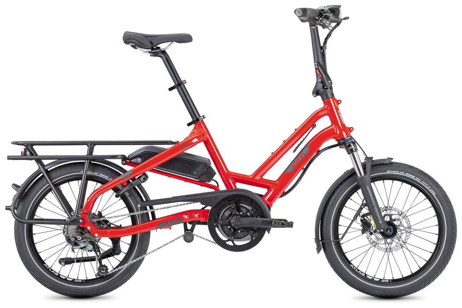 E-Bikes/e-bike: Tern  HSD P9 LR mit Beleuchtung Rot Modell 2021