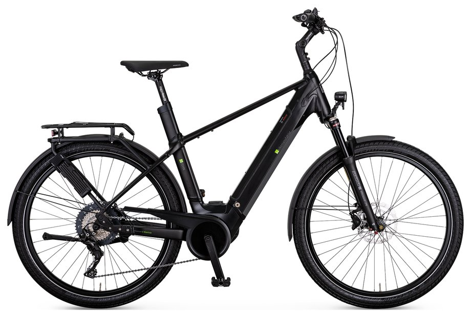 E-Bikes/e-bike: E-Bike Manufaktur  13ZEHN Schwarz Modell 2021