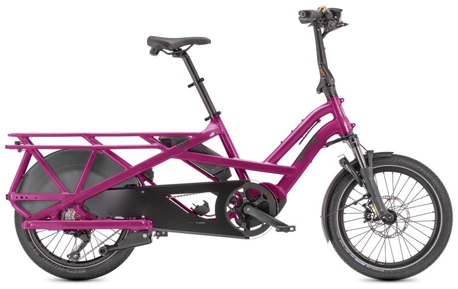 E-Bikes/e-bike: Tern  GSD S10 Jubilee Lila Modell 2021