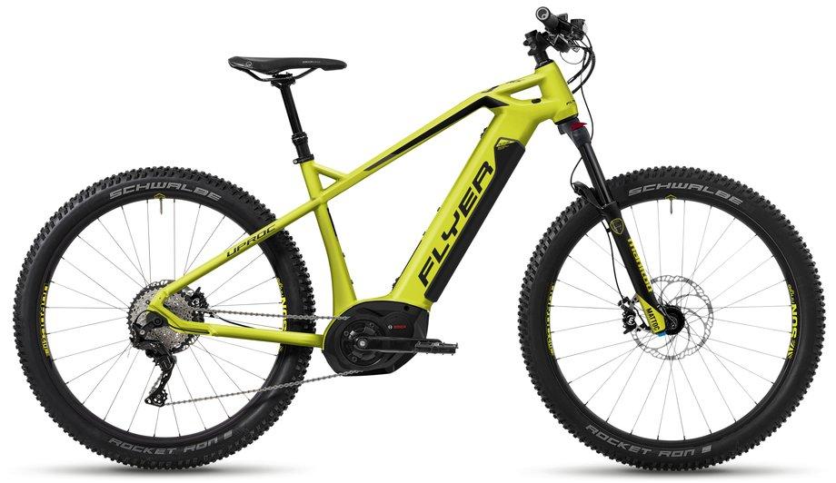 E-Bikes/e-bike: Flyer  Uproc1 6.30 Grün Modell 2018