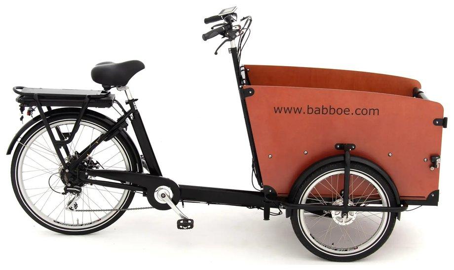 Fahrräder/lastenfahrräder: Babboe  Big-E Schwarz Modell 2021