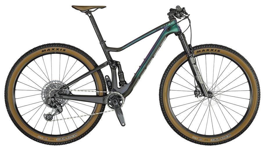 Scott Spark RC 900 Team Issue AXS Lila Modell 2021