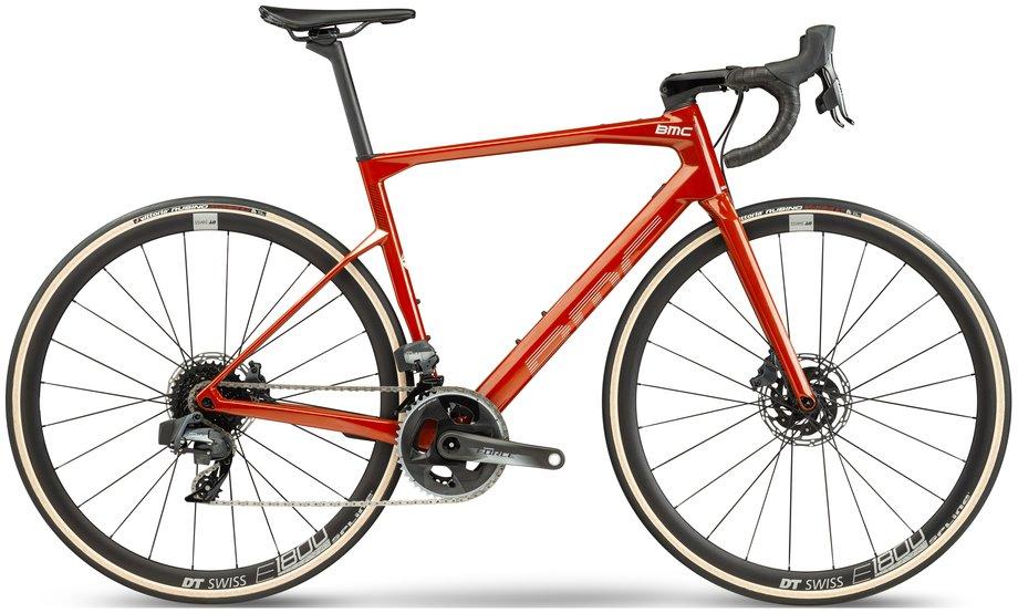 Fahrräder/rennräder: BMC  Roadmachine One Rot Modell 2021