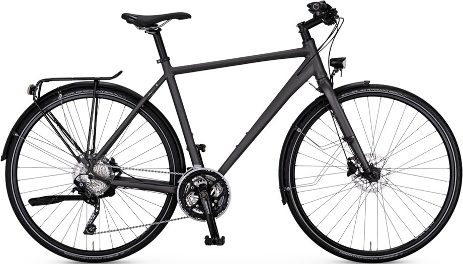 Fahrräder/trekkingräder: Rabeneick  TS5 Kette Grau Modell 2021