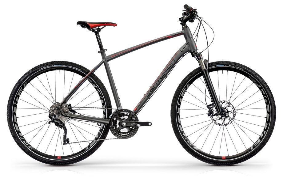 Fahrräder/Crossbikes: Centurion  Cross Line Pro 2000 Grau Modell 2021