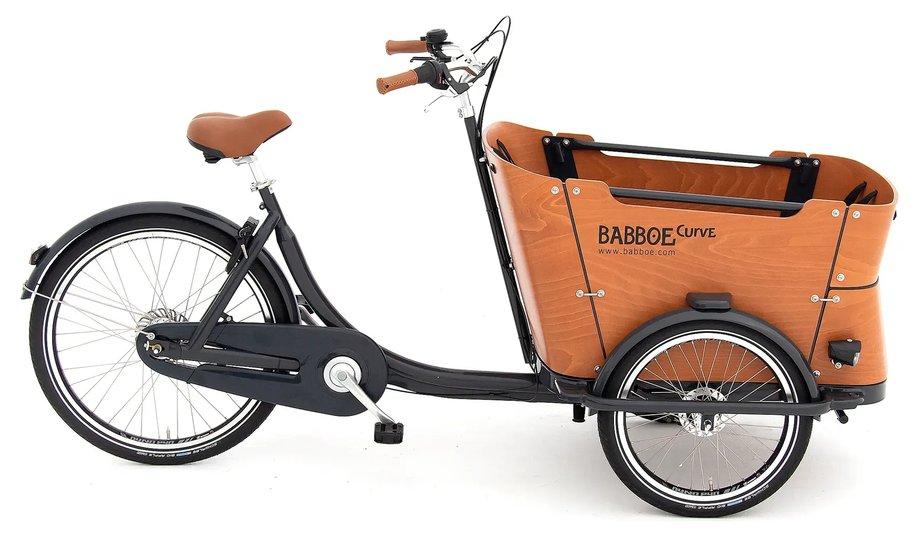 Fahrräder/lastenfahrräder: Babboe  Curve Grau Modell 2021