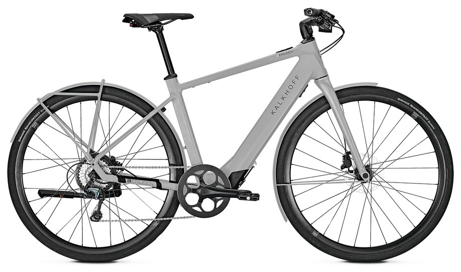Kalkhoff Berleen 5.G Advance E-Bike Grau Modell 2019