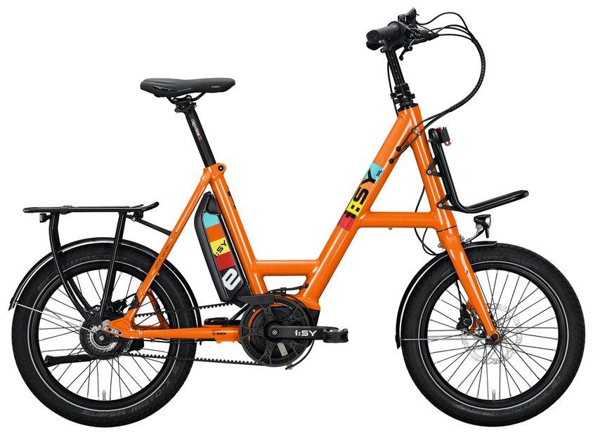 E-Bikes/e-bike: ISY  DrivE XXL N3.8 ZR Orange Modell 2021