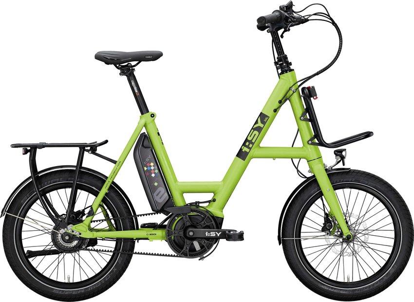 E-Bikes/e-bike: ISY  DrivE XXL N3.8 ZR Grün Modell 2021