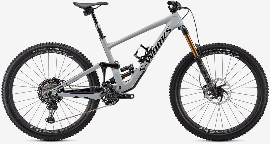 Fahrräder/Mountainbikes: Specialized  Enduro S-Works Carbon 29 Grau Modell 2020