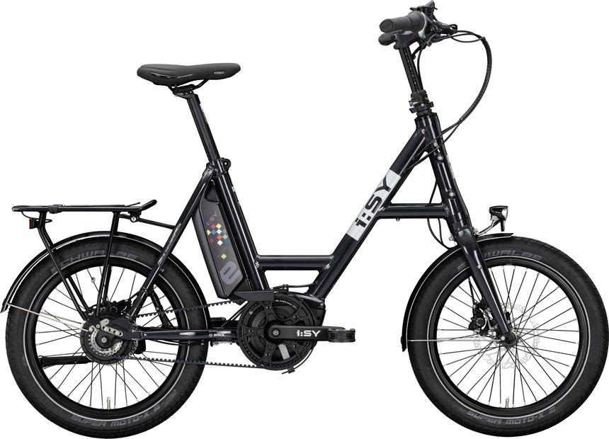 E-Bikes/e-bike: ISY  DrivE N3.8 ZR Grau Modell 2021